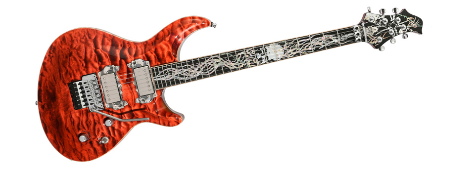 ESP Original Exhibition Series 2017 Mystique See Thru Red
