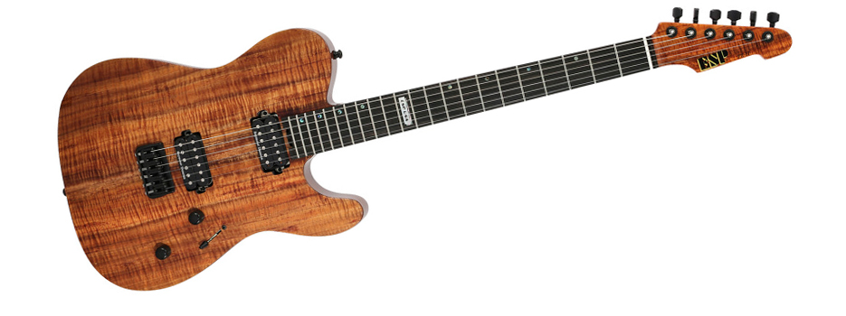 ESP USA Limited Edition TE-II Koa #1 of 25