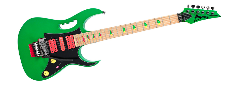 Ibanez JEM 30th Anniversary Limited Edition Loch Ness Green