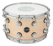 Performance 8x14 Snare In Natural Laquer Finish