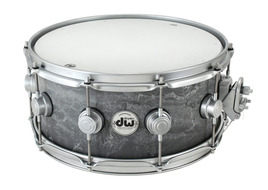 Collectors Series 6.5x14 Concrete Snare With Satin Chrome Hardware