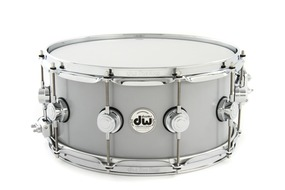 6.5 x 14 Rolled Aluminum Snare With Chrome Hardware