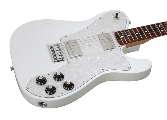 Fender Chris Shiflett Telecaster Deluxe Artic White ...