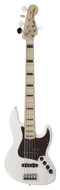 American Deluxe Jazz Bass V White Blonde Ash