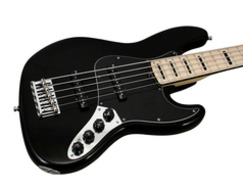 American Deluxe Jazz V Bass Black
