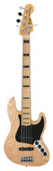 American Deluxe Jazz Bass V Maple Neck Natural Ash Body