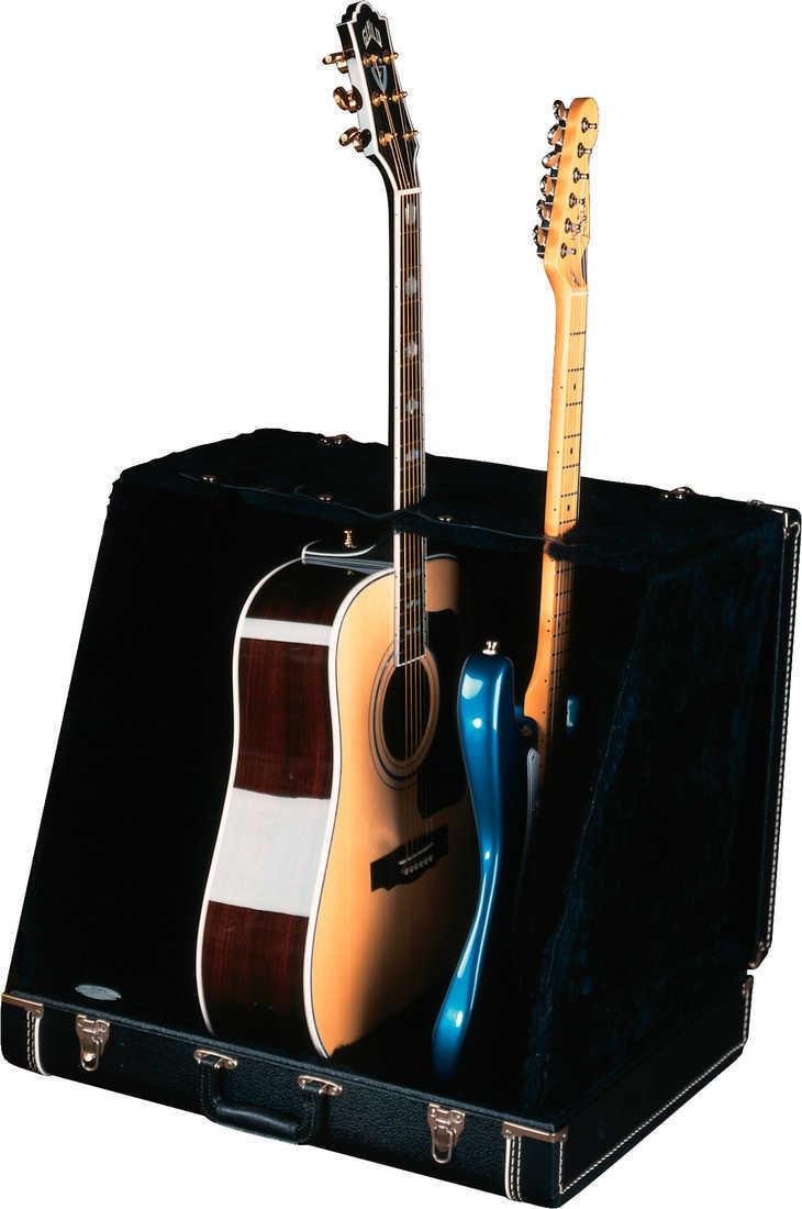 fender guitar stand 3 slot stage black rainbow guitars. Black Bedroom Furniture Sets. Home Design Ideas