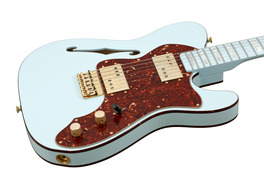 Custom Shop 72 Telecaster Thinline Sonic Blue Masterbuilt