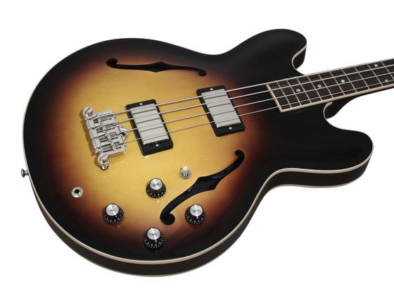 Vintage sunburst bass