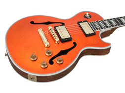 Benchmark Collection 2013 Limited Run Les Paul Florentine Orange Sparkle