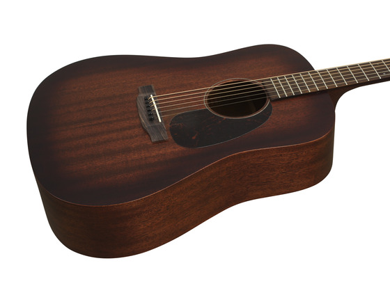 martin d 15m burst 15 series dreadnought acoustic new lower pricing rainbow guitars. Black Bedroom Furniture Sets. Home Design Ideas