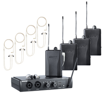 PSM-200 Wireless In-Ear Monitors for Four Users