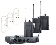 PSM200 WirelessIn-Ear Monitors for Three Users