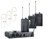 PSM200 Wireless In-Ear Monitors for Three Users
