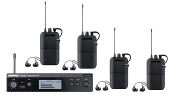 PSM300 In-Ear Monitors for 4 Users