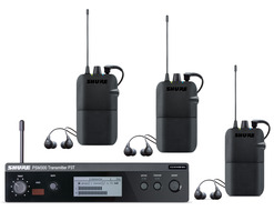 PSM-300 In-Ear Monitors for 3 Users