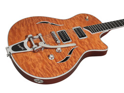 T3B Quilted Maple Top w/Bigsby Orange
