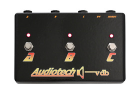Audiotech ABC Channel Selector/Combiner 3 Way Pedal