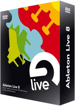 Ableton LIVE 8 <BR>Sequencing Software/ Full Version