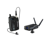 Audio-Technica ATW-1701L Camera Mount Wireless with Lavalier Mic