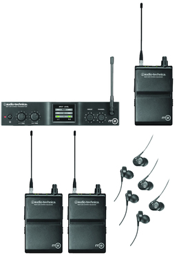 Audio-Technica M2 Wireless In-Ear Monitor System for 3 Users
