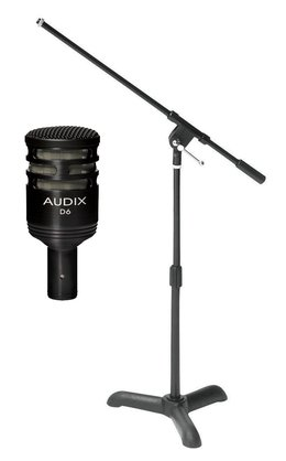 Audix D6 Mic with Microphone Stand