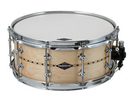 Craviotto 6x14 Custom 1-ply Maple Snare Drum With Inlay
