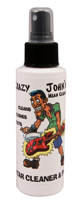 Crazy John's Guitar Cleaner and Polish