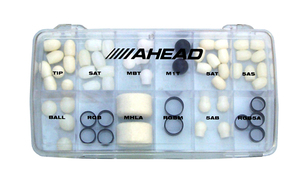 Ahead Tip/ring Box (58 Pc. Assorted)