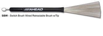 Ahead Switch Brush Wired Retractable Brush with Tip (1pr)