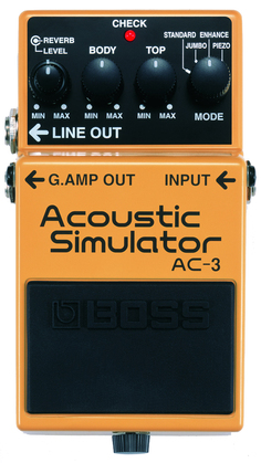 Boss AC-3 Acoustic Simulator<BR>