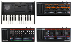 Roland Boutique Pack (JP-08, JU-06, JX-03) plus a Free K-25M