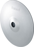 Roland CY-14C-MG V-Cymbal Crash In Metallic Grey (Factory Refurbished)