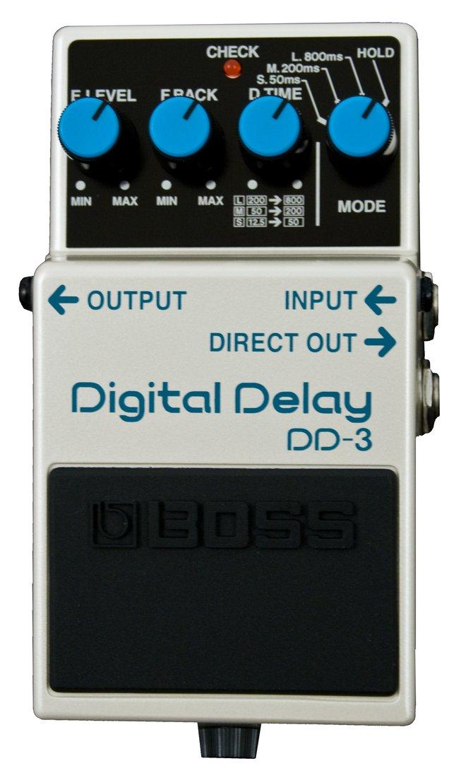 boss guitar pedal dd 3 digital delay rainbow guitars. Black Bedroom Furniture Sets. Home Design Ideas
