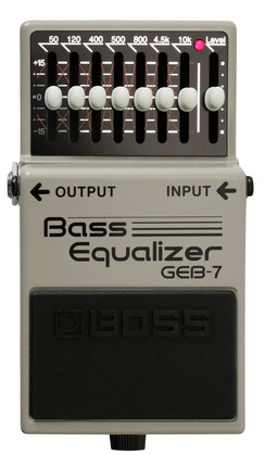 Boss GEB-7 Bass Seven Band Equalizer