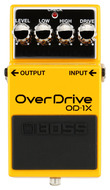 BOSS OD-1X Plug Into the Ultimate Overdrive Experience