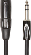 "Roland Black Series 15ft Interconnect Cable, ¼"" TRS-XLR(Male)"