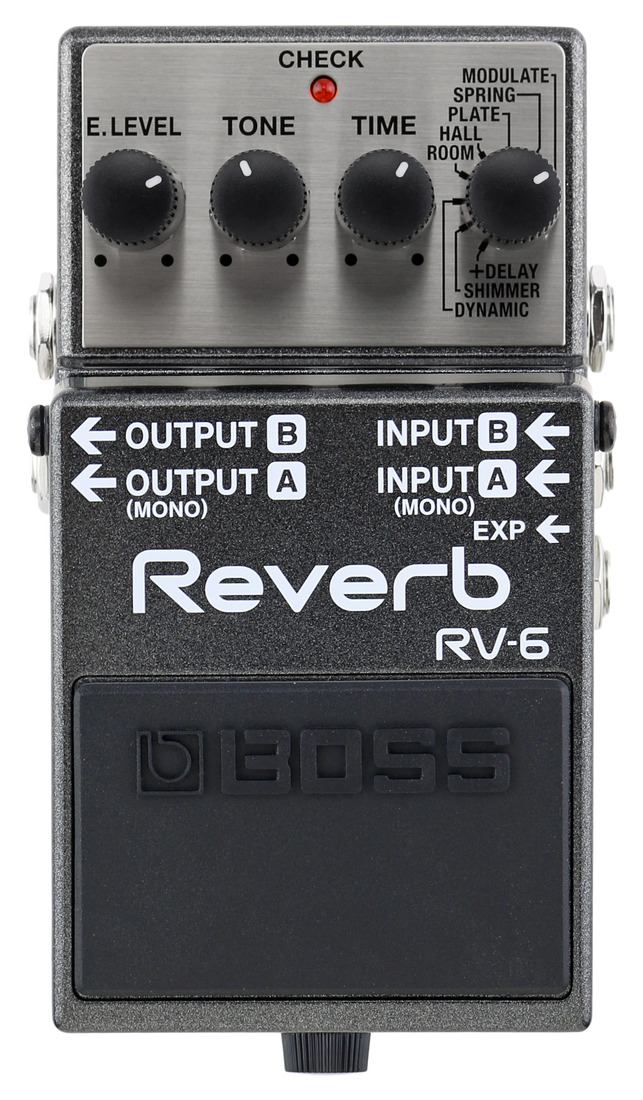 Boss Rv6 Digital Reverb Rainbow Guitars