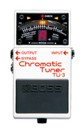 Boss TU-3 Chromatic Stage Tuner