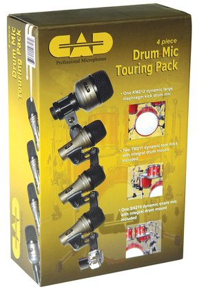 CAD DMTP-4 Drum Microphone Package