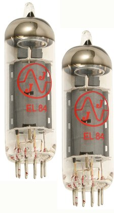 JJ (Tesla) EL84<BR>Matched Pair Tubes