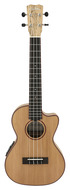 Cordoba 24T-CE Tenor Solid Cedar Top Spalted Maple Electric Uke