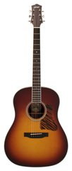 Collings CJ Series Sunburst with Tiger Striped Pickguard