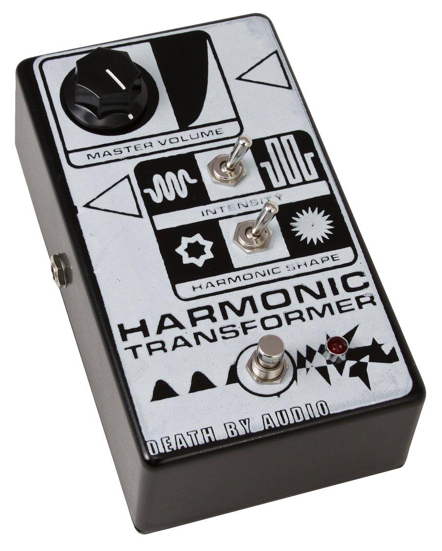 death by audio harmonic transformer guitar pedal rainbow guitars. Black Bedroom Furniture Sets. Home Design Ideas
