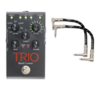 DigiTech Trio Band Creator Pedal w/2 Free Patch Cables