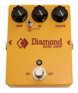 Diamond High Headroom Bass Compressor with  EQ and Power Supply