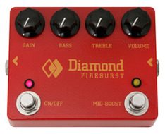 Diamond Pedals Firebust Distortion Fuzz Pedal