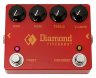 Diamond Pedals Fireburst Distortion Fuzz Pedal