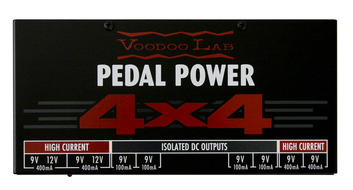VooDoo Lab Pedal Power 4X4 Power Supply