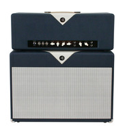 Divided By 13 FTR37 Amp Head with Cab Navy/Egg